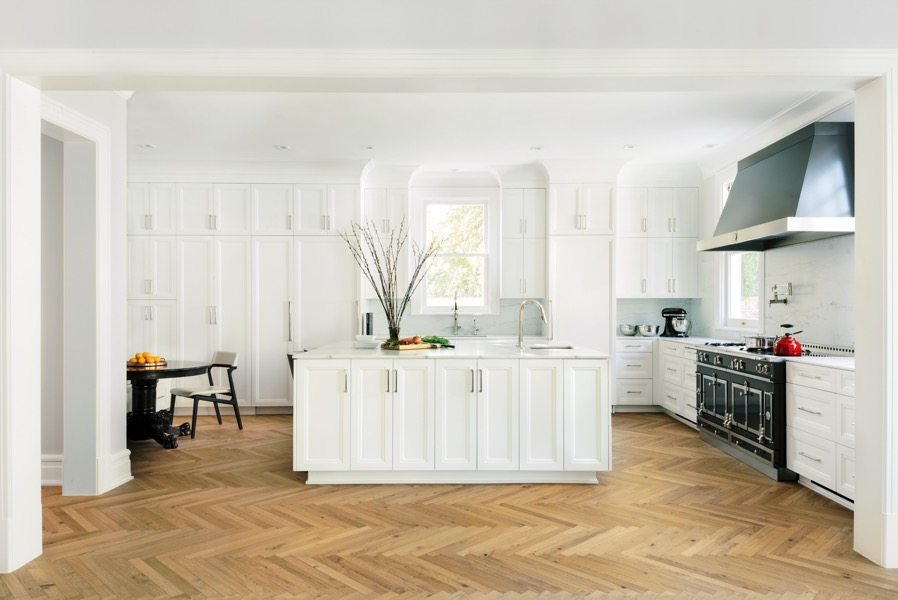 harringbone wood flooring