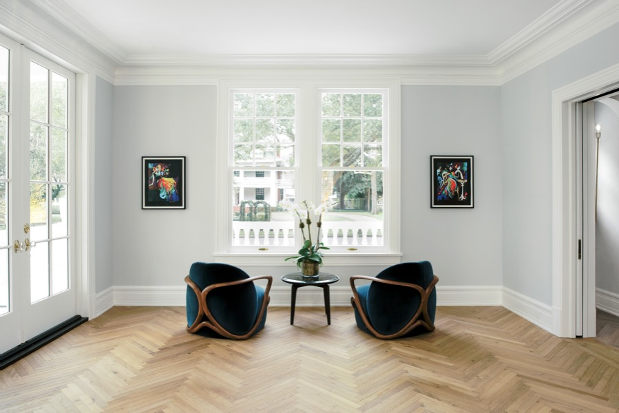 harringbone wood flooring parquet