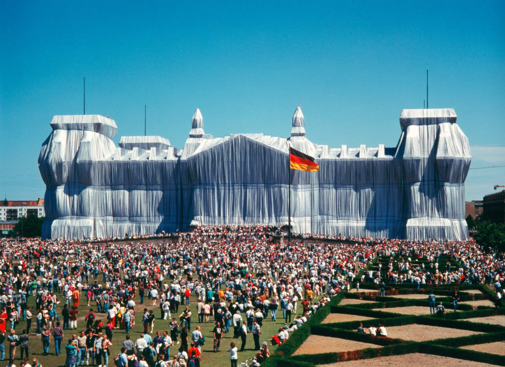 "Christo and Jeanne-Claude's ""Wrapped Reichstag"""