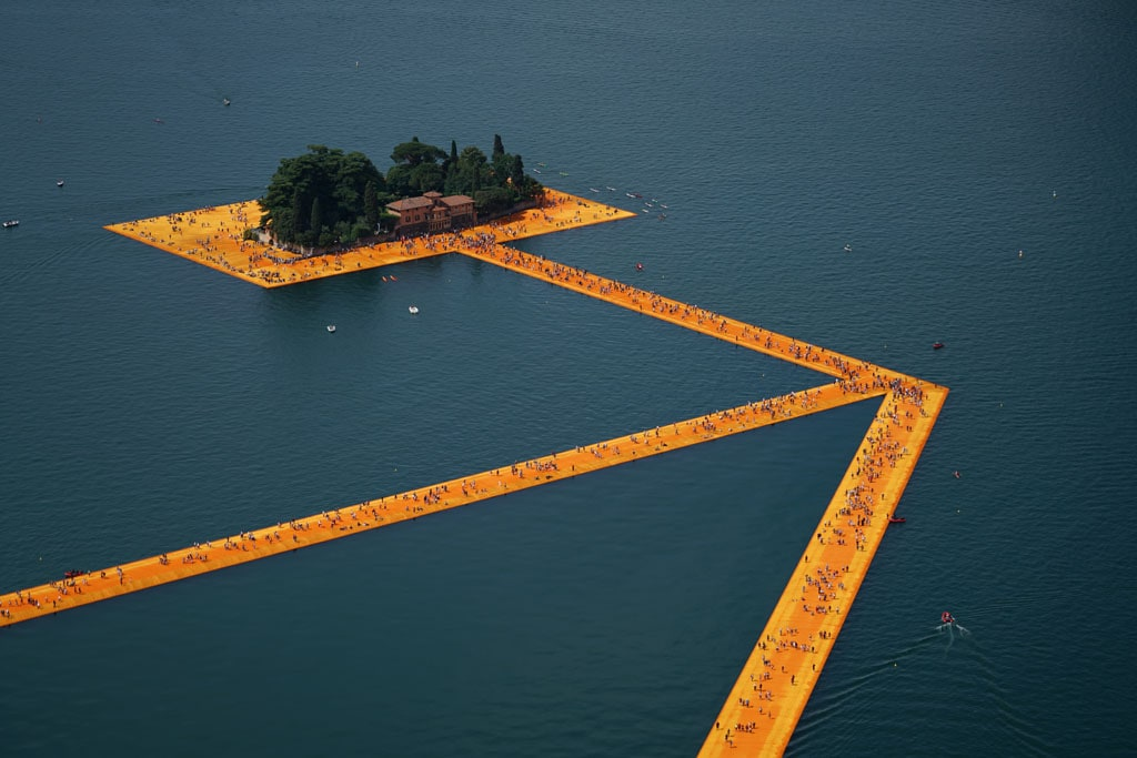 The Floating Piers, Lago Iseo